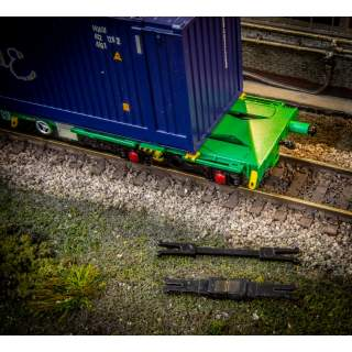 Hunt Couplings ELITE - Coupling Pack For Bachmann Intermodal Wagons - OO Gauge