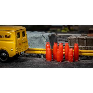 Gas Bottles (Pack of 20, 10 Large & 10 Small)