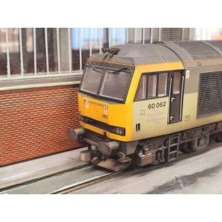 Horns to Fit Hornby Class 60 (4 Pieces)