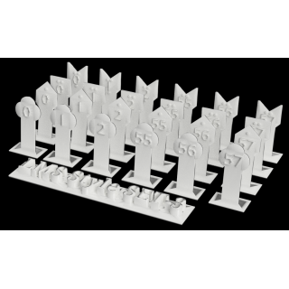 Mile Posts - LMS style (Pack of 24)